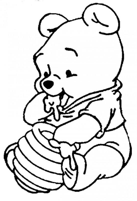 popular character free coloring activity winnie the pooh piglet - Disney Baby Piglet Coloring Pages