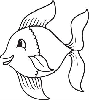 printable fish coloring pages me